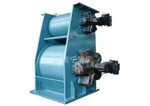 Double Drum Hydraulic Winch