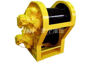 Pipelayer Vehicle Hydraulic Winch